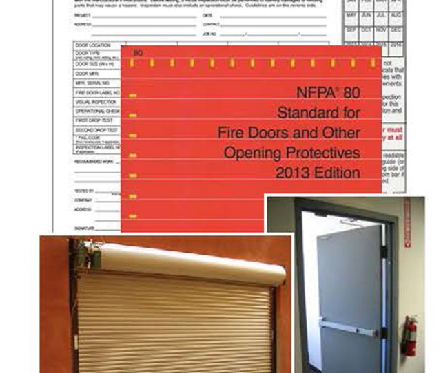 Rolling Horizontal Sliding Side Hinged Swinging And Other Types Of Fire Rated And Smoke Control Doors And Opening Protectives