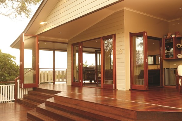 Custom folding exterior door - Copy