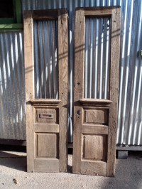 here are some cool old doors for sale