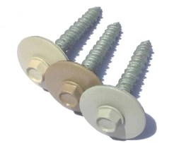 DOORBRIM Accessories | Makes installation a breeze with matching color fasteners.