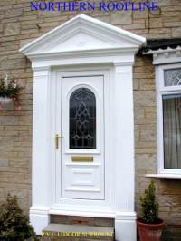 Door Columns & VICTORIAN DOOR SURROUND