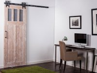 Barn door hardware interior design may be different ...