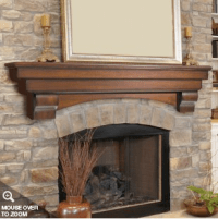 Dear Internet, HERES How to Build a Fireplace Mantel | DO ...