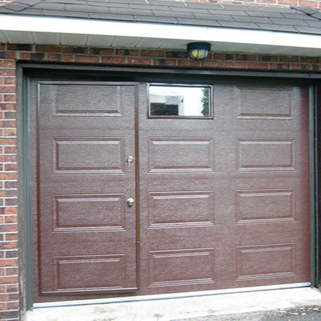 Pedestrian Door  Specialized Door Within a Garage Door