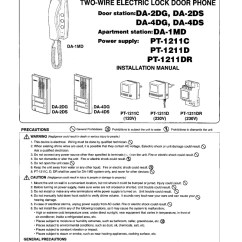 Bpt Door Entry Handset Wiring Diagram Three Way Switch Ceiling Fan Aiphone Pt-1211dr - 15v Ac Power Supply With Din Rail