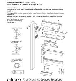 transom closers instructions [ 800 x 1093 Pixel ]