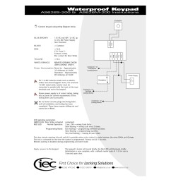 al2000 monitored electric strike instructions as626 alpro keypad instructions mar10 [ 800 x 1131 Pixel ]