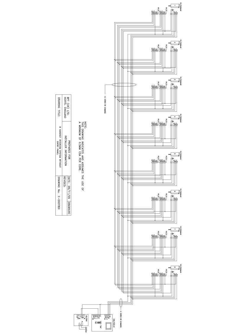 Wiring Diagram For Bpt Intercom. Sample Block Diagram