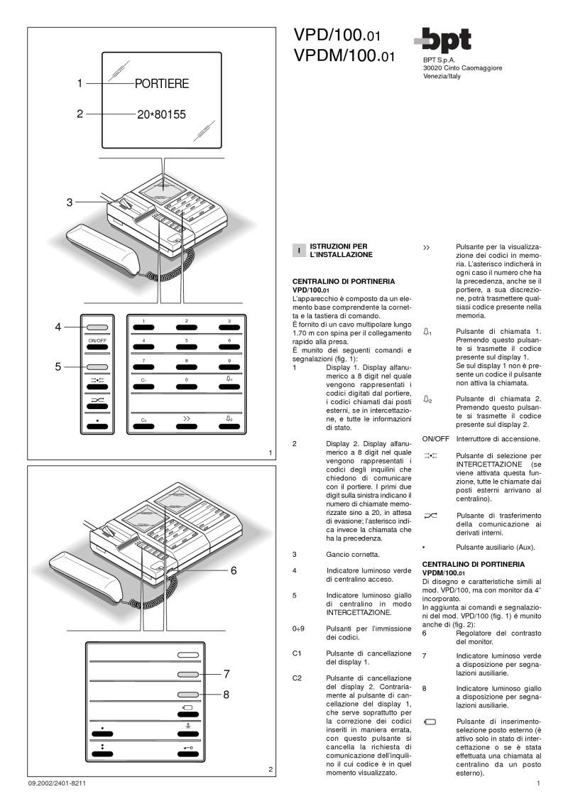 bpt installation instructions
