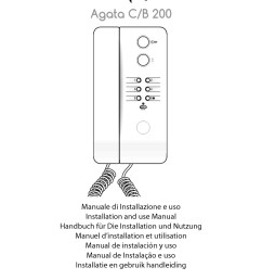 bpt agata c b 200 user manual [ 800 x 1131 Pixel ]