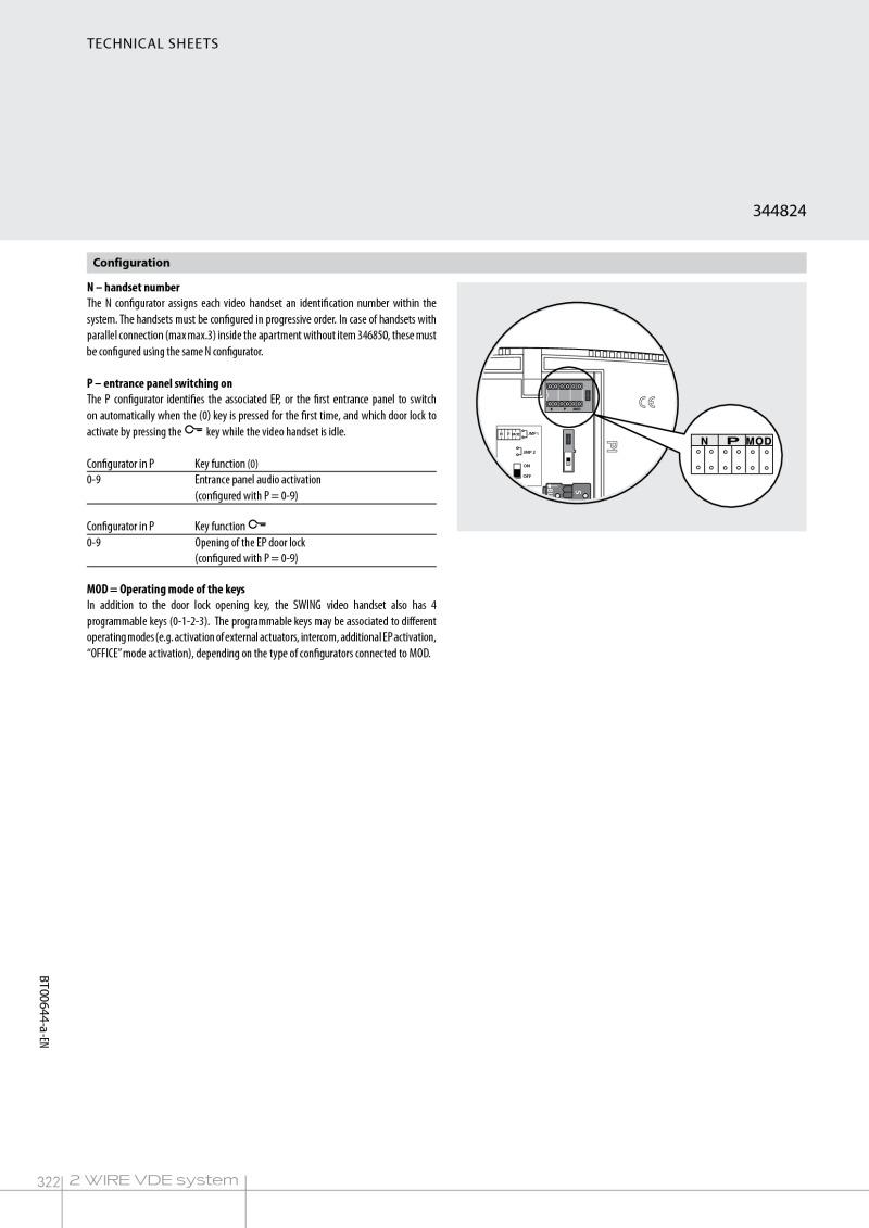 medium resolution of bticino wiring diagram for 344824