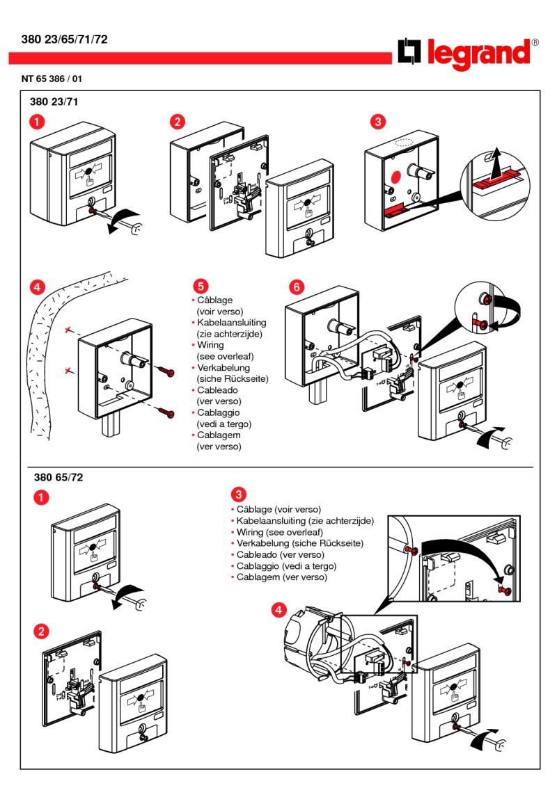 hight resolution of bticino break glass installation diagram