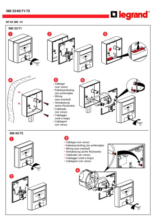 small resolution of bticino break glass installation diagram