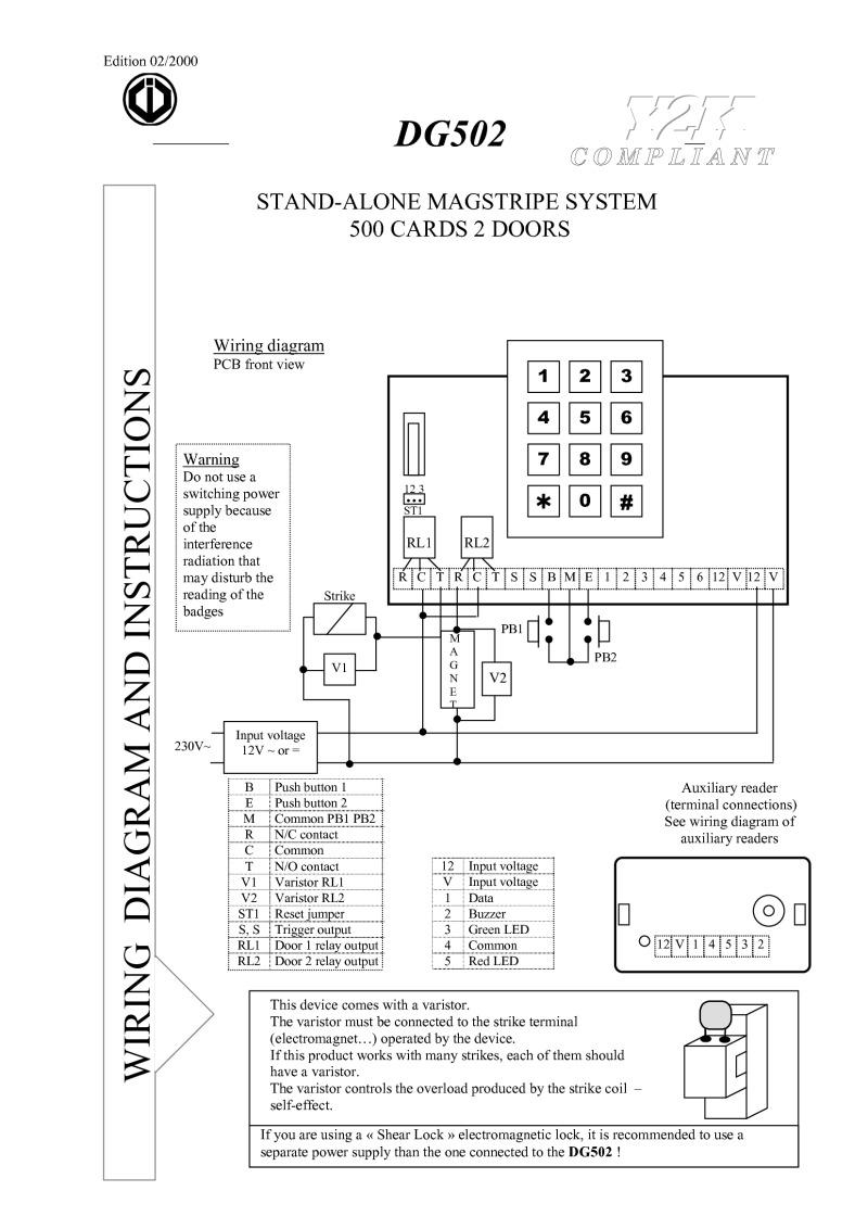 cdvi installation instructions