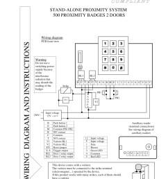 cdvi instruction manual for art dg502 [ 800 x 1132 Pixel ]