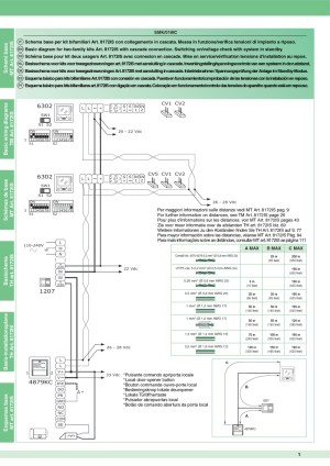 Comelit Style 5 Wiring Diagram  Wiring Diagram