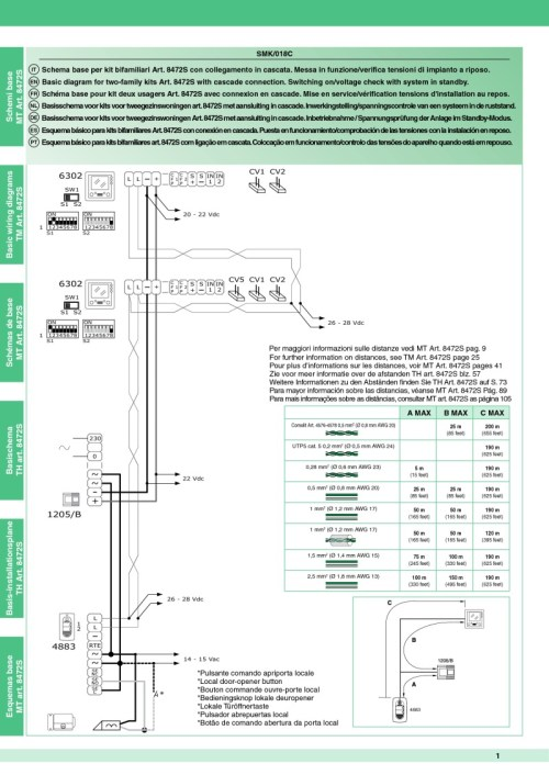 small resolution of comelit wiring diagrams8472s wiring diagram