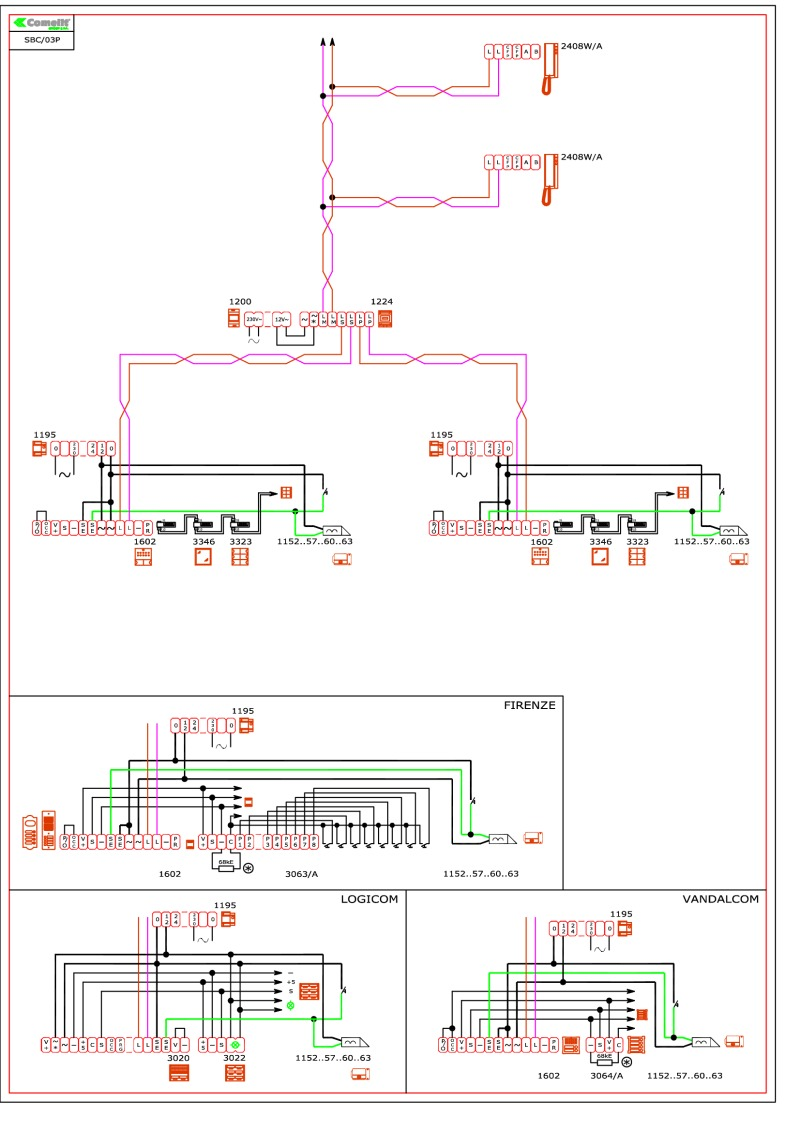 hight resolution of comelit wiring diagrams rh doorentrydirect com comelit 3551 wiring diagram comelit intercom wiring diagram