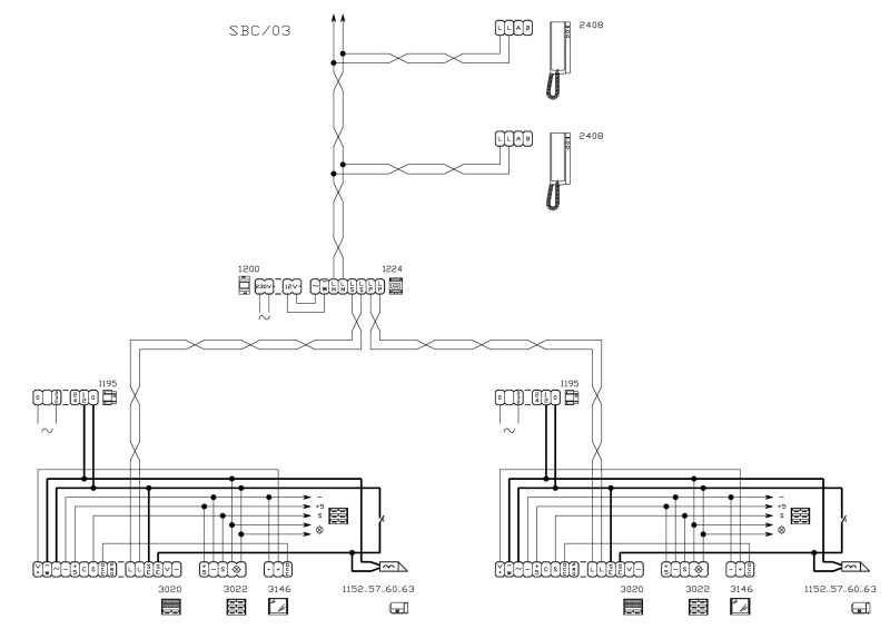 Comelit Intercom Systems Wiring Comelit Intercom How To ... on