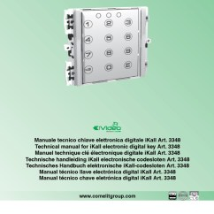 Comelit Wiring Diagram 7 Way Installation Instructions