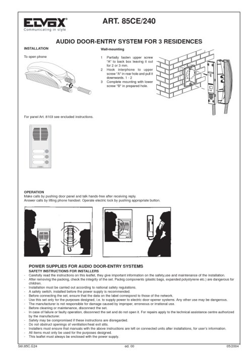 small resolution of elvox intercom wiring diagram images gallery