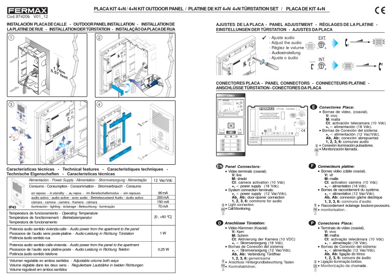 fermax installation instructions