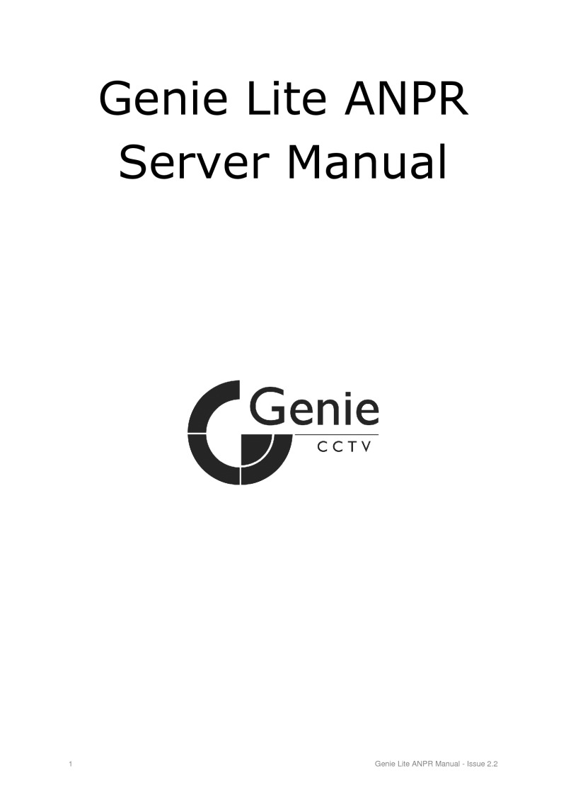 genie cctv installation instructions