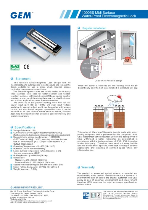 small resolution of em10006s brochure and instructions