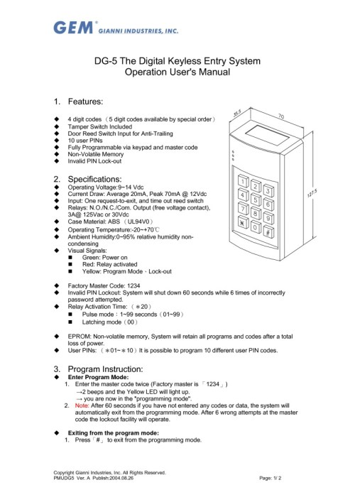 small resolution of 5 pole relay wiring diagram door lock