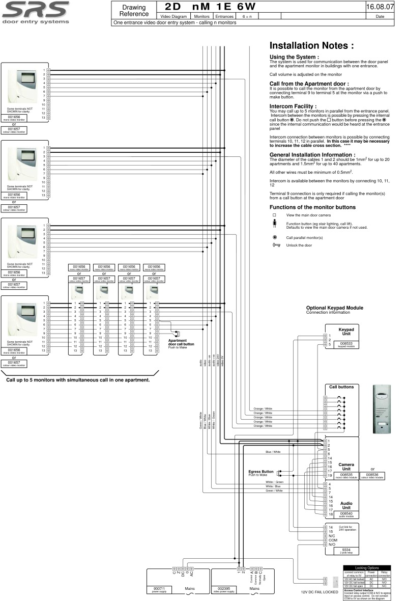 Dmc1 Wiring Diagram TekTone Wiring-Diagram Wiring Diagram