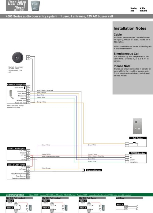 small resolution of srs audio installation diagram n way 1 entrance with extension bel