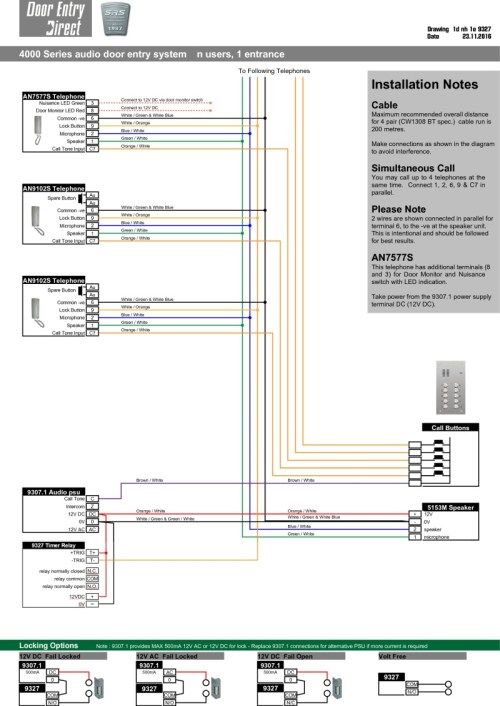 small resolution of srs audio installation diagram n way 1 entrance with 9327 timer in