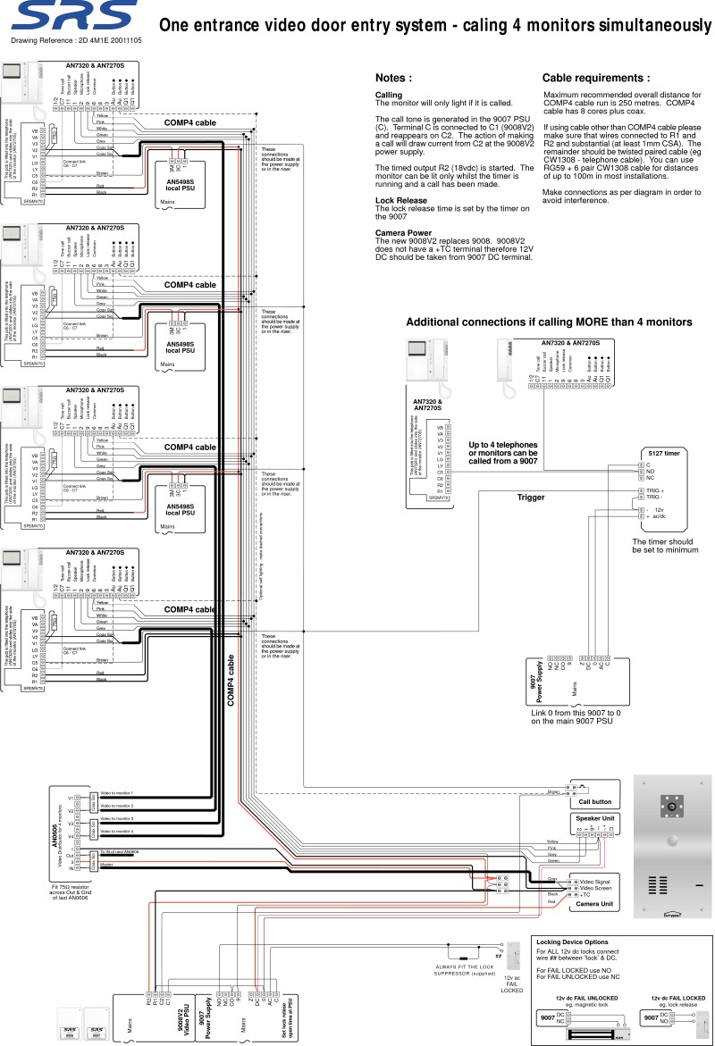 srs wiring diagrams