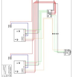 videx 836 series audio wiring diagram 2 x entrance 1 x phone 321 [ 800 x 1132 Pixel ]