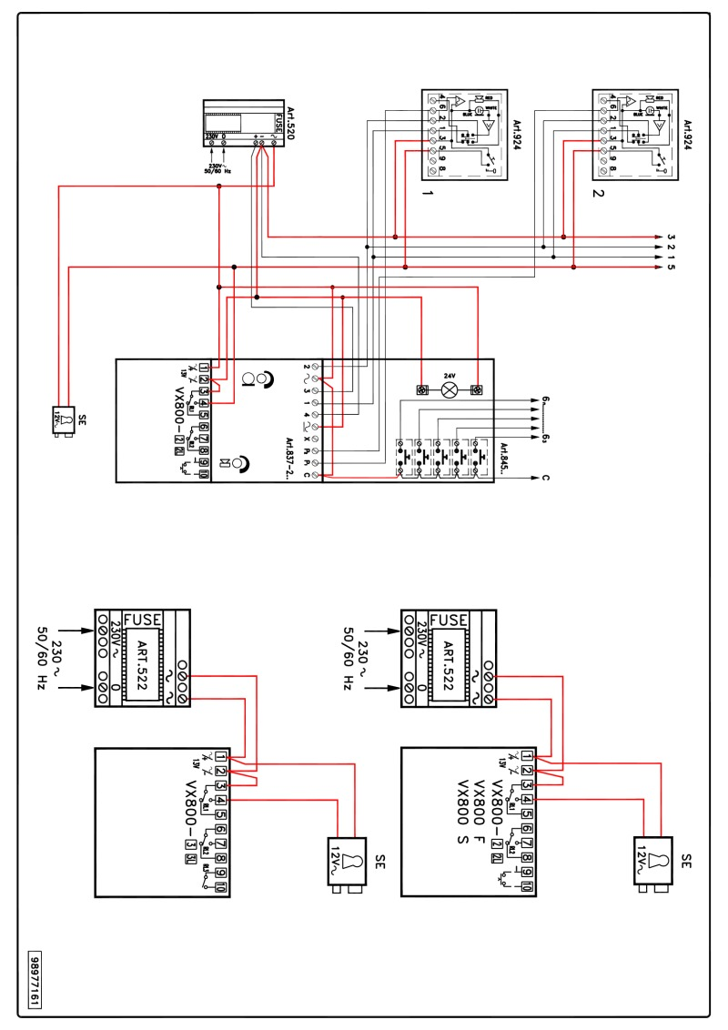 hight resolution of videx vx 800 wiring diagram