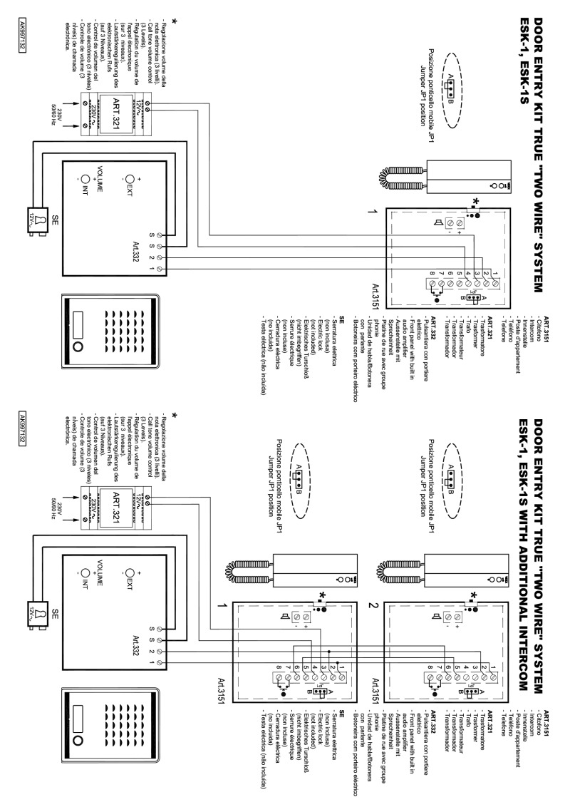 3 Wire Intercom Wiring Diagram : 30 Wiring Diagram Images