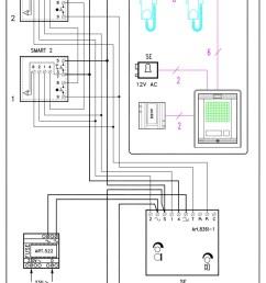 videx ik1 audio wiring diagram 4 n 1 x entrance 2 [ 800 x 1132 Pixel ]