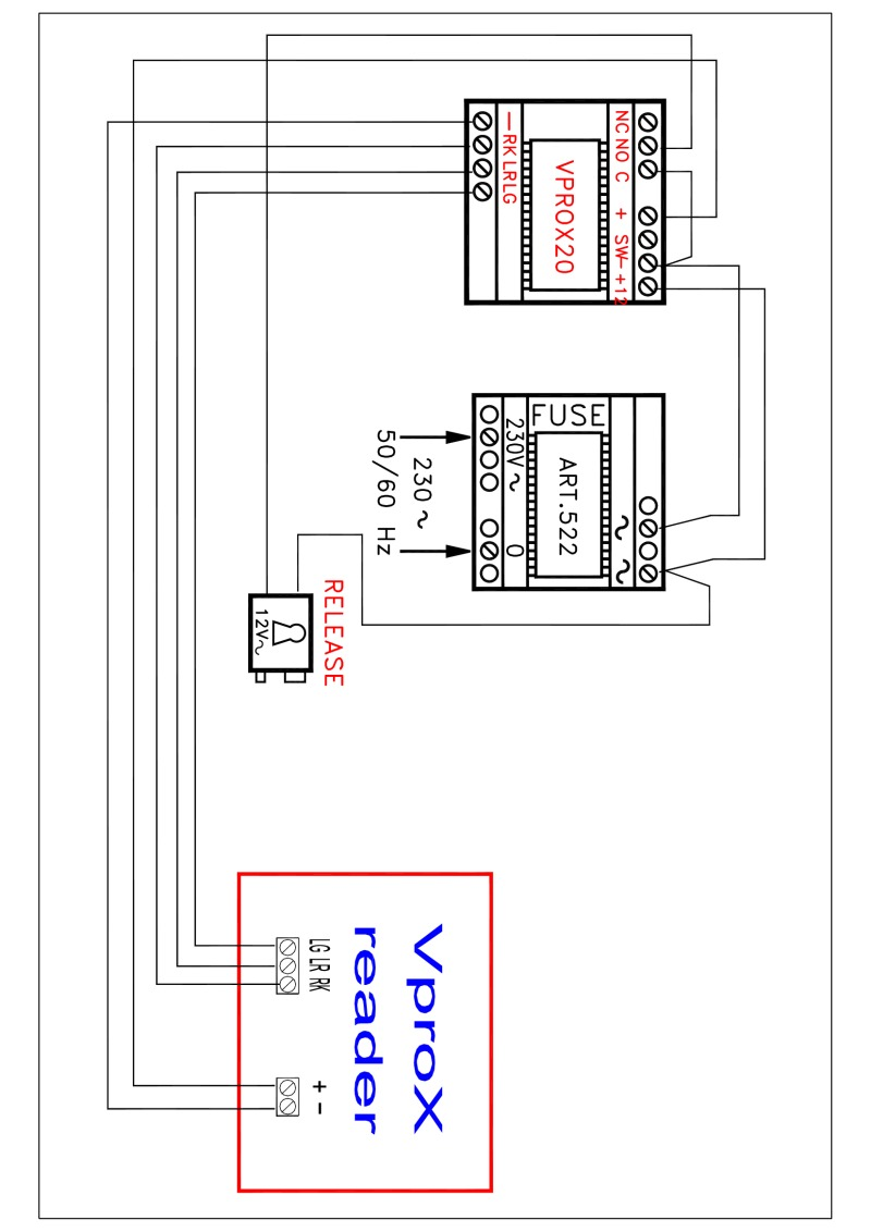 hight resolution of videx ksx1 wiring diagram vprox vprox20 522 12v ac psu