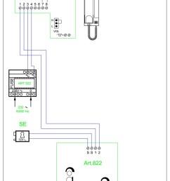 videx twk1 audio wiring diagram 2 wire 1 x entrance 822  [ 800 x 1132 Pixel ]