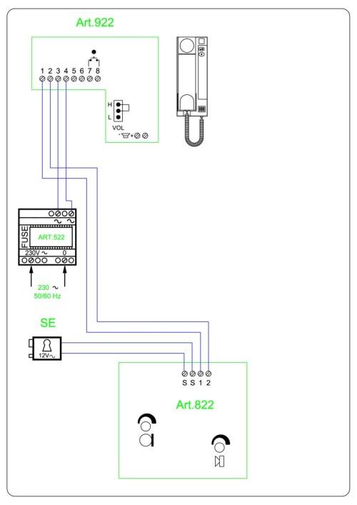 small resolution of videx twk1 audio wiring diagram 2 wire 1 x entrance 822