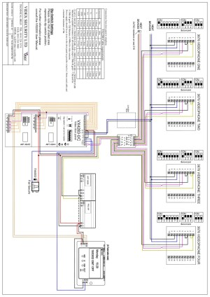 Videx Miscellaneous Wiring Diagrams