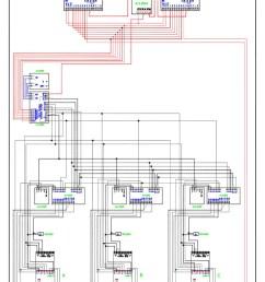 videx video coax system 3 entrance 3 x 2 button 837 [ 800 x 1132 Pixel ]