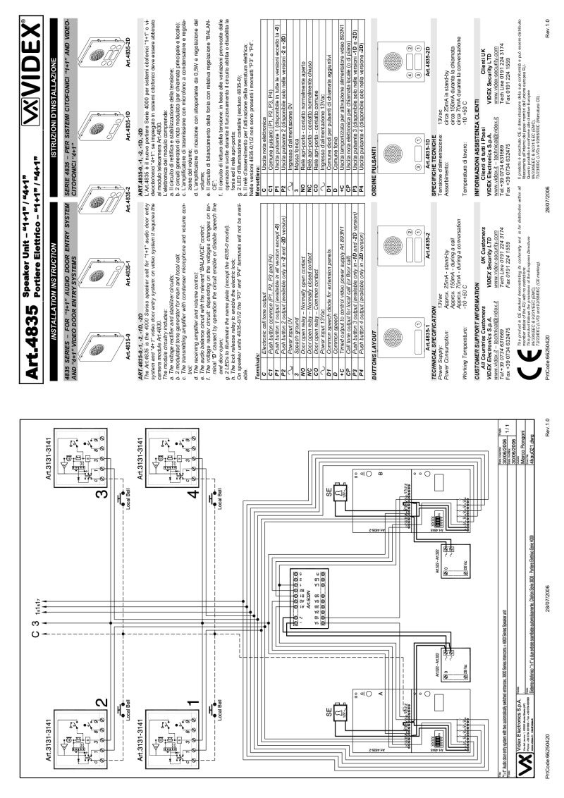 Videx Wiring Diagram Libraries Ford 400 Distributor Diagramsvidex Instructions Free For You U2022