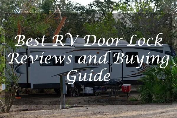 Best rv door lock reviews