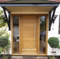 Contemporary Front Door FHB44 - Bespoke Doors and Windows