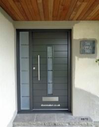 Contemporary Front Door HB72 - Bespoke Doors and Windows