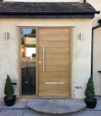Contemporary Front Door HB75 - Bespoke Doors and Windows