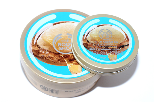 wild argan oil the body shop