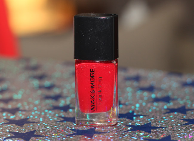 Max & More Columbian Red (action nagellak)