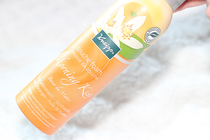 kneipp douche foam morning kiss